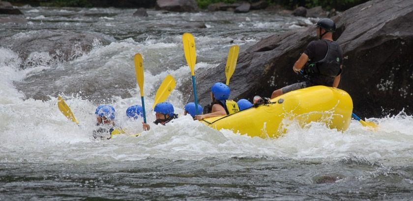 dove fare rafting
