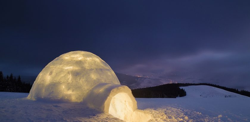 dormire in igloo